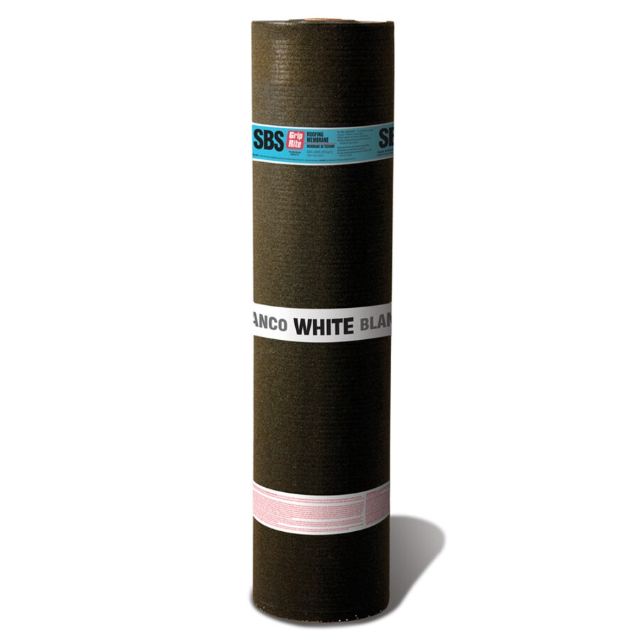 Grip-Rite 3-ft W x 32.8-ft L 100-sq ft White Roll Roofing