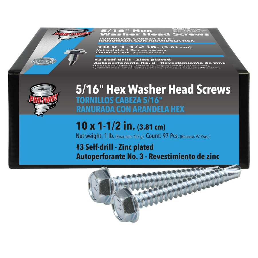 #10 x 1 Hex Washer Head Metal Roof Screw Multiple Sizes in Listing siding screws with EPDM washer seal 100 PCS #10 x 1 #10 x 1 100 PCS sheet metal roofing Self starting//self tapping metal to wood siding screws with EPDM washer seal
