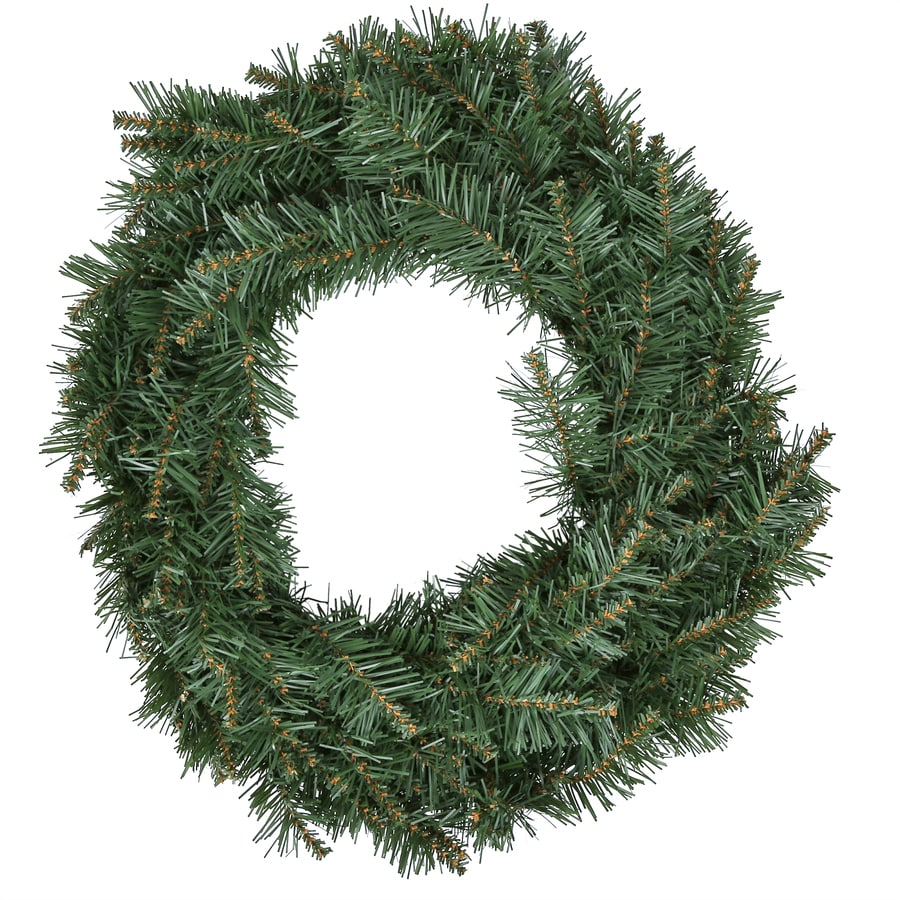 holiday living 24 in pine monroe pine artificial christmas wreath