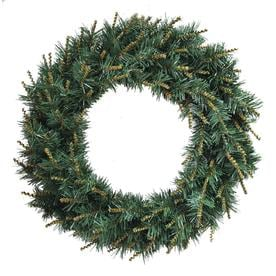 Holiday Living 24 In Pine Monroe Artificial Christmas Wreath