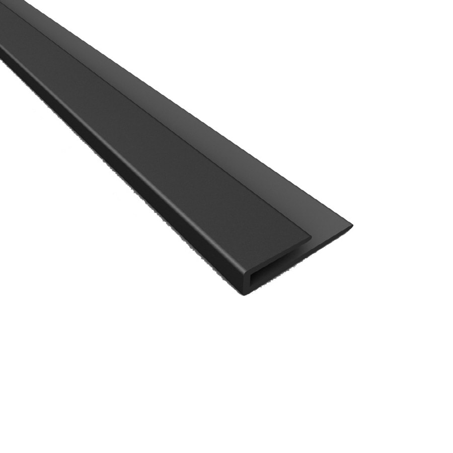 Ceiling Trim Lowes: Shop ACP 48-ft Black Pvc Smooth Ceiling Grid Trim At Lowes.com
