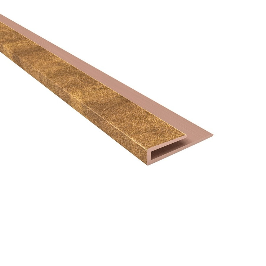 ACP 4-ft Antique Bronze PVC Smooth J-channel Ceiling Grid Trim