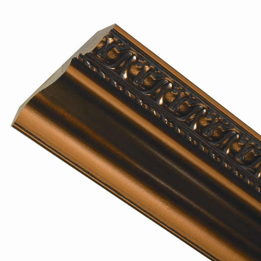 ACP Grand Baroque 6-in x 8-ft Prefinished MDF Crown Moulding