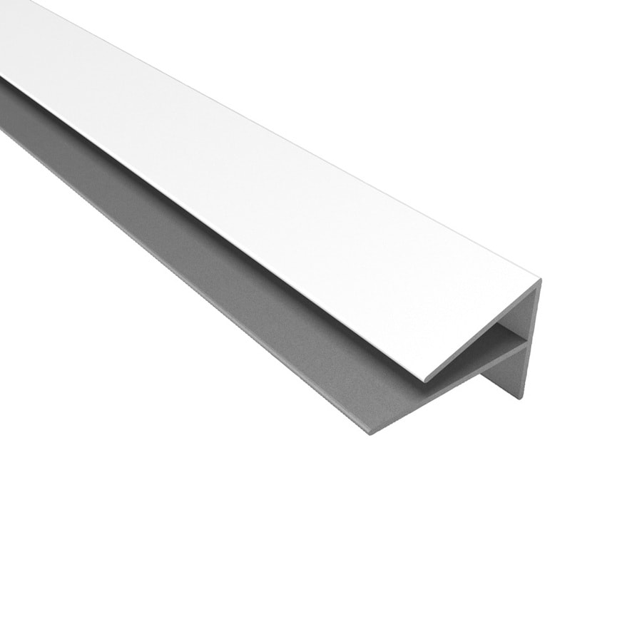 ACP Gloss White PVC Smooth Outside Corner Ceiling Grid Trim