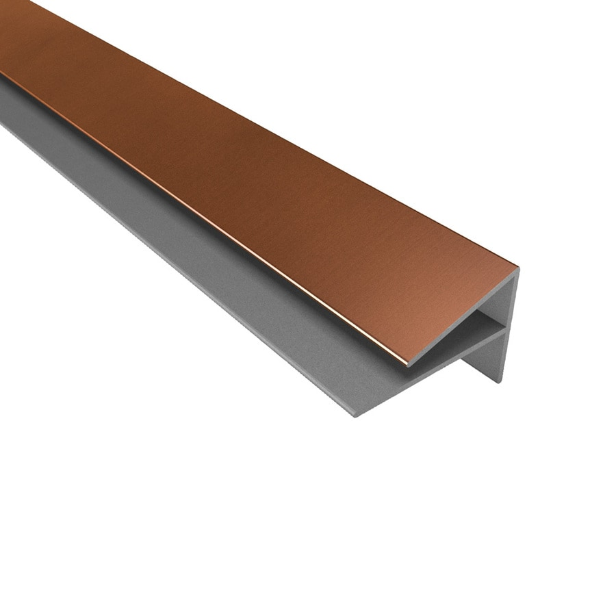 ACP Oil Rubbed Bronze PVC Smooth Outside Corner Ceiling Grid Trim