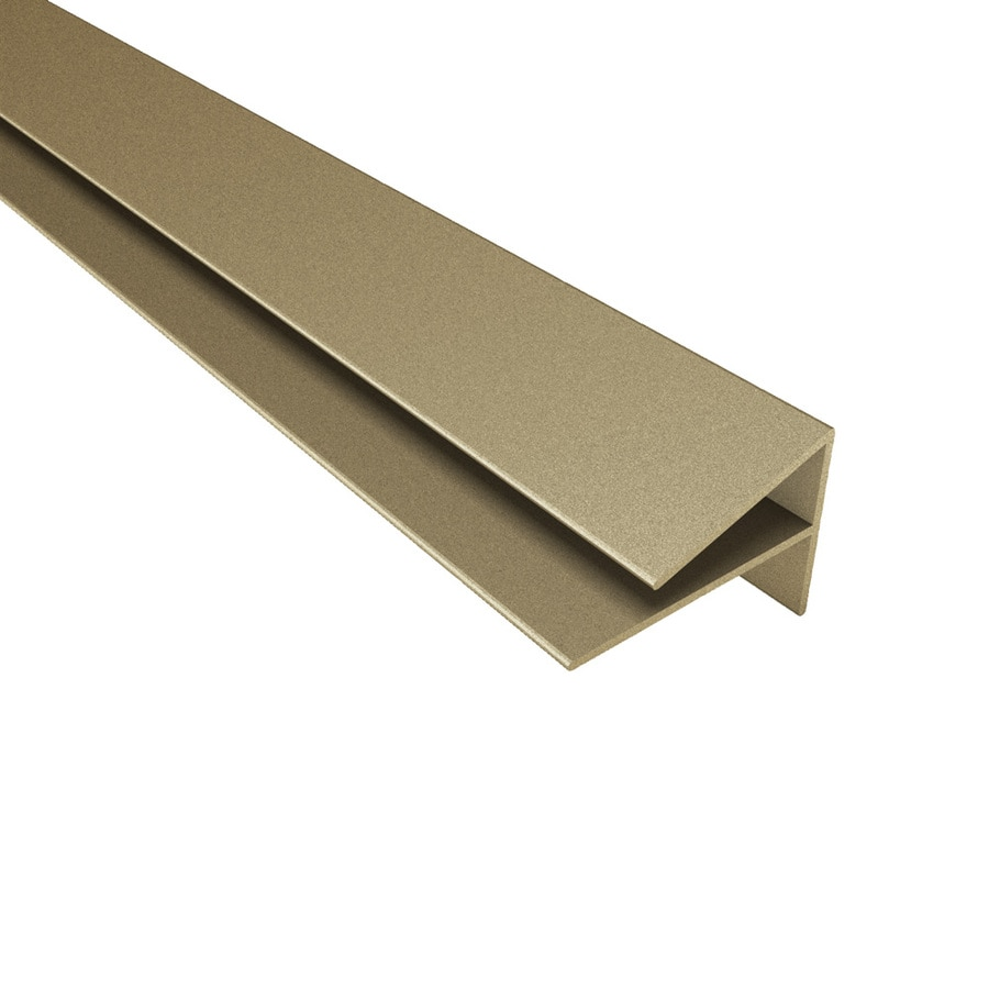 ACP 4-ft Argent Bronze PVC Smooth Outside Corner Ceiling Grid Trim