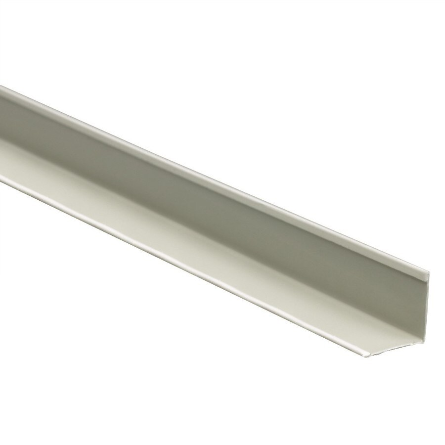 Ceiling Trim Lowes: Shop Classic X 20-Pack 12-ft White Metal Smooth Edge