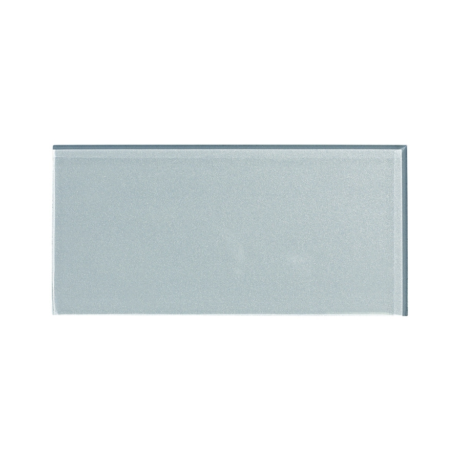 Aspect Glass 3-in x 6-in Glacier Backsplash