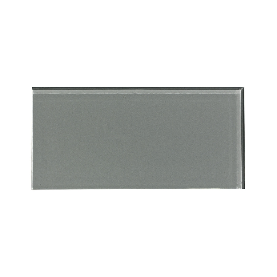 Aspect Glass 3-in x 6-in Steel Backsplash