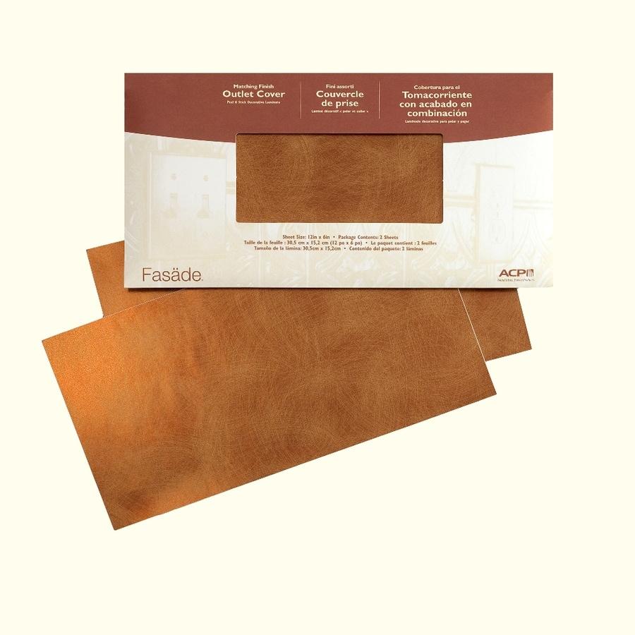 Fasade 6-in x 12-in Antique Bronze Multipurpose Backsplash