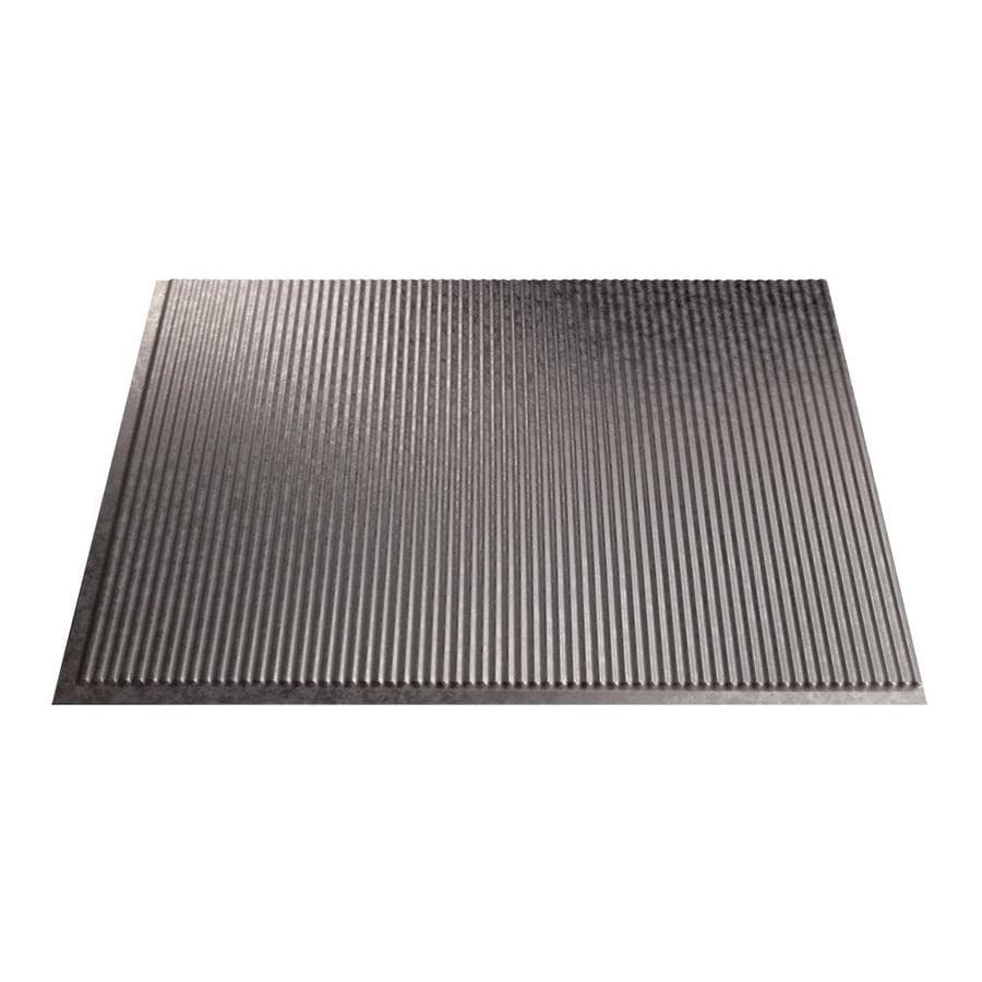 Fasade 18.5-in x 24.5-in Galvanized Steel Thermoplastic Multipurpose Backsplash