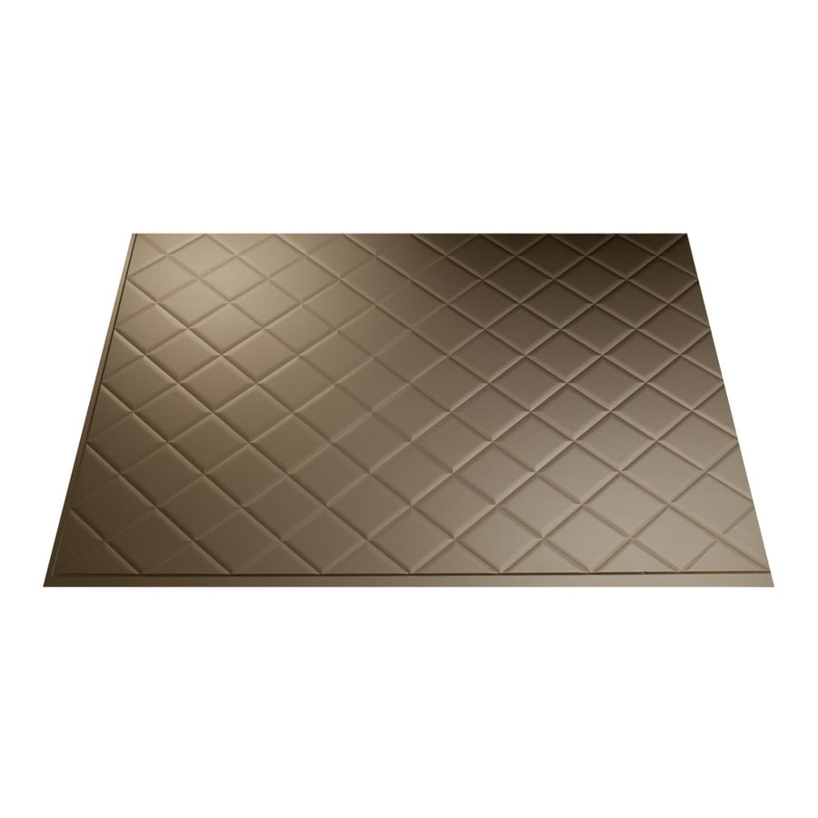 18 5 in x 24 5 in argent bronze thermoplastic multipurpose backsplash