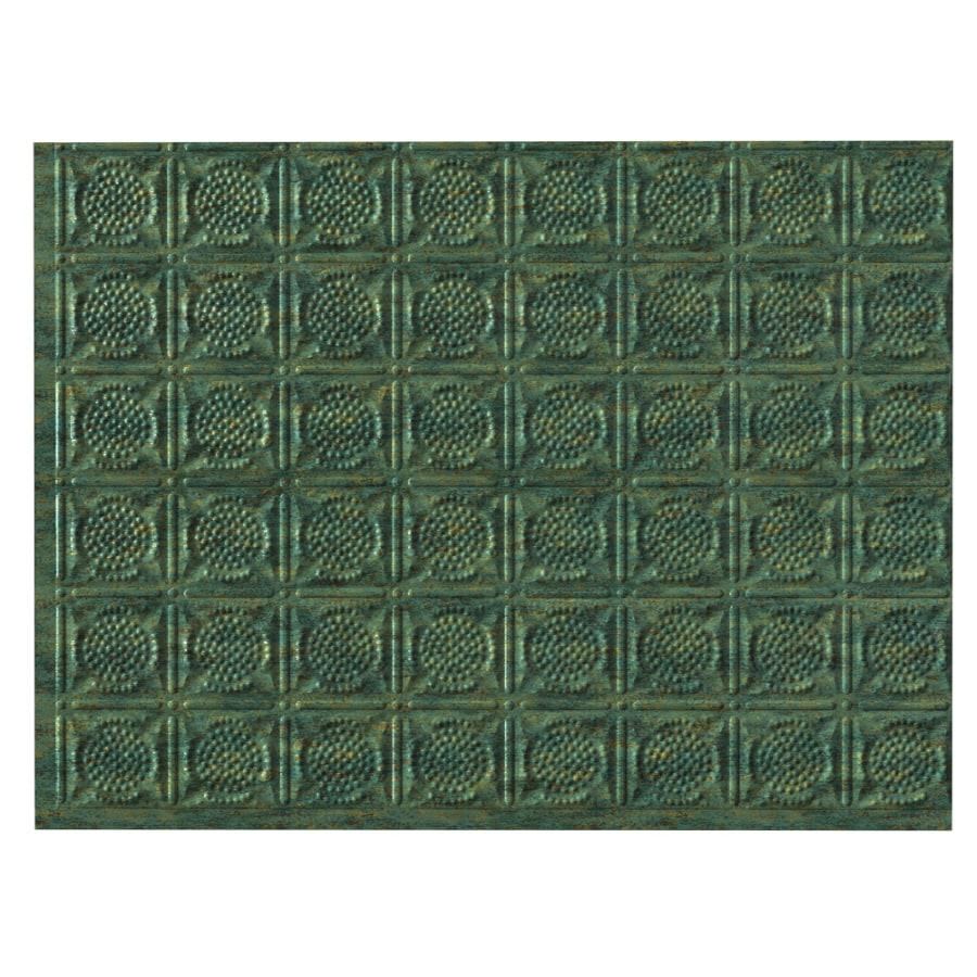 - Fasade 24-1/2-in Green Thermoplastic Multipurpose Backsplash At