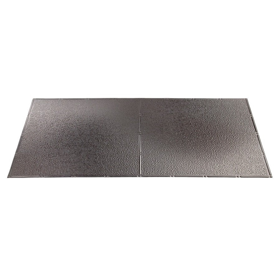 Fasade Galvanized Steel Faux Tin Surface-Mount Ceiling Tiles (Common: 48-in x 24-in; Actual: 48.375-in x 24.375-in)