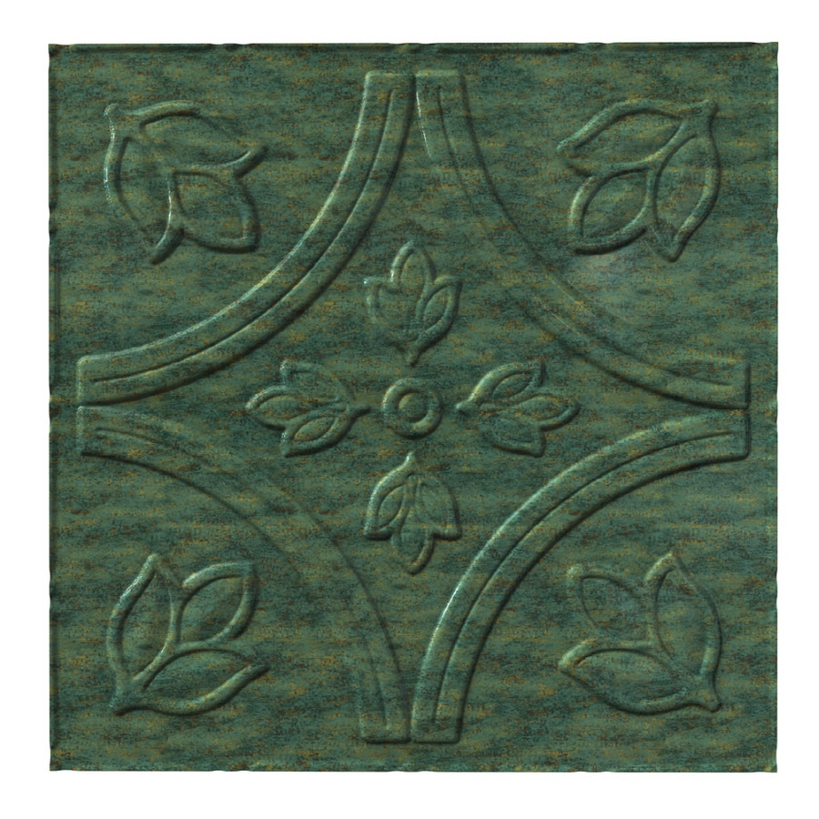 Shop acp 24 x 48 traditional 5 glue up ceiling tile verdigris acp 24 x 48 traditional 5 glue up ceiling tile verdigris dailygadgetfo Choice Image
