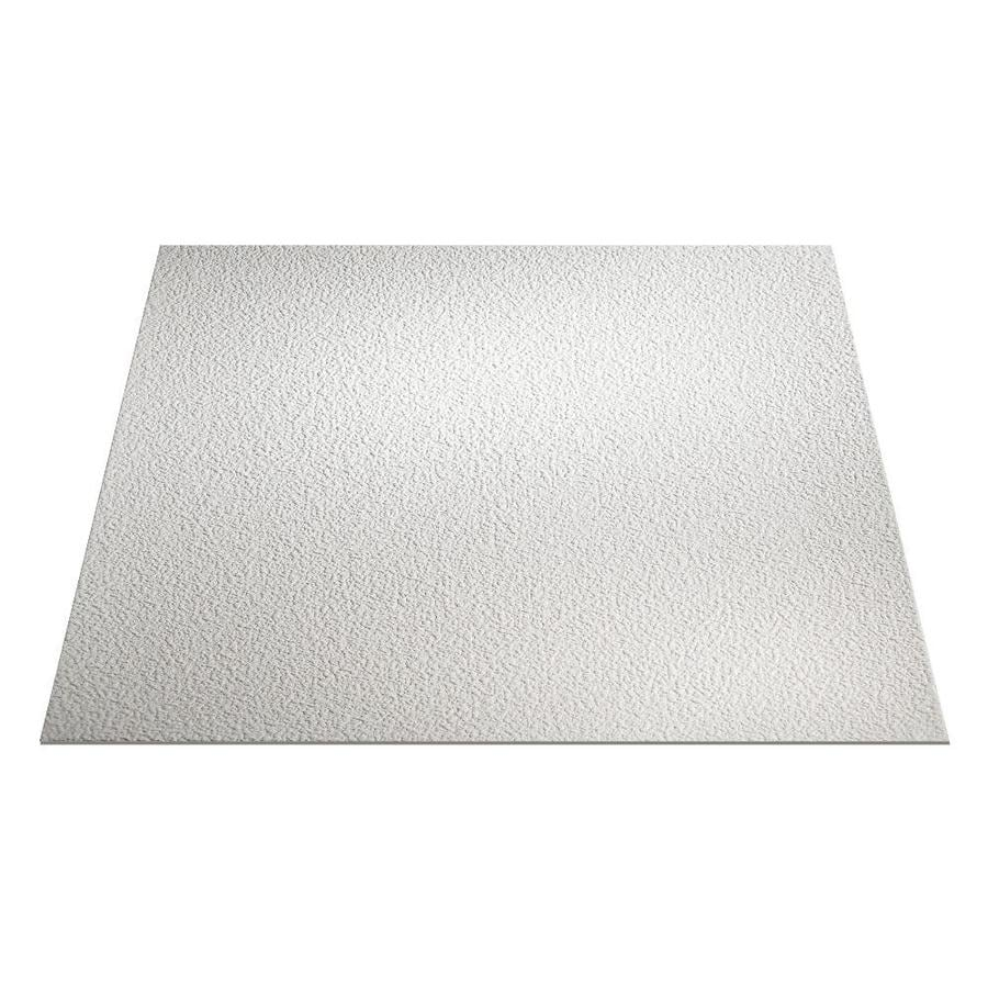 Genesis White Textured 15/16-in Drop Ceiling Tiles (Common: 24-in x 24-in; Actual: 23.75-in x 23.75-in)