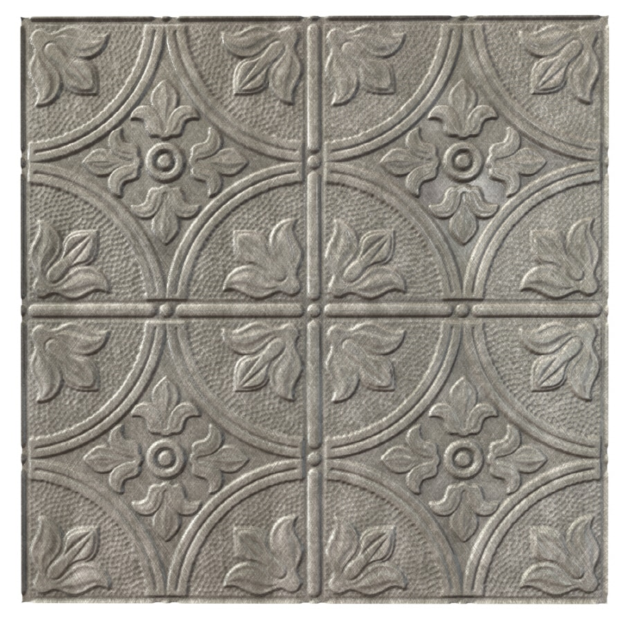 ceiling fasade silver art suspended white tile vision in deco htm nickel brushed drop tiles