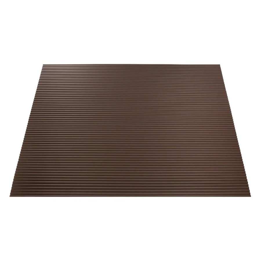 Fasade Argent Bronze Faux Tin 15/16-in Drop Ceiling Tiles (Common: 24-in x 24-in; Actual: 23.75-in x 23.75-in)