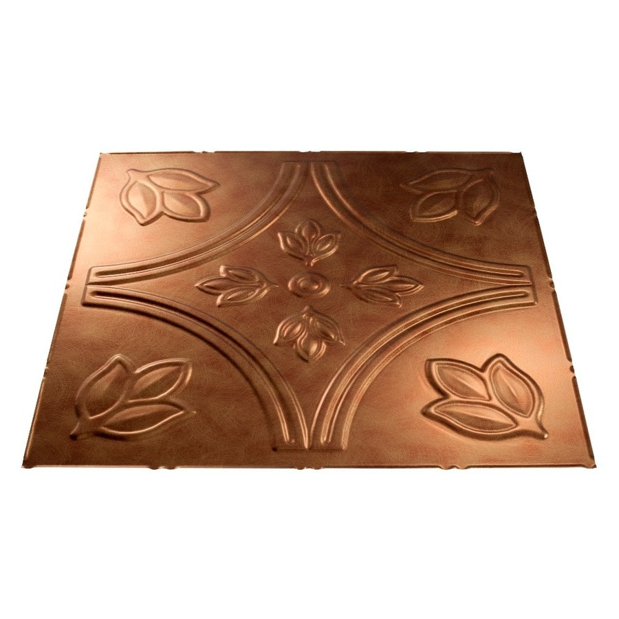 Shop fasade antique bronze faux tin 1516 in drop ceiling tiles fasade antique bronze faux tin 1516 in drop ceiling tiles common dailygadgetfo Gallery