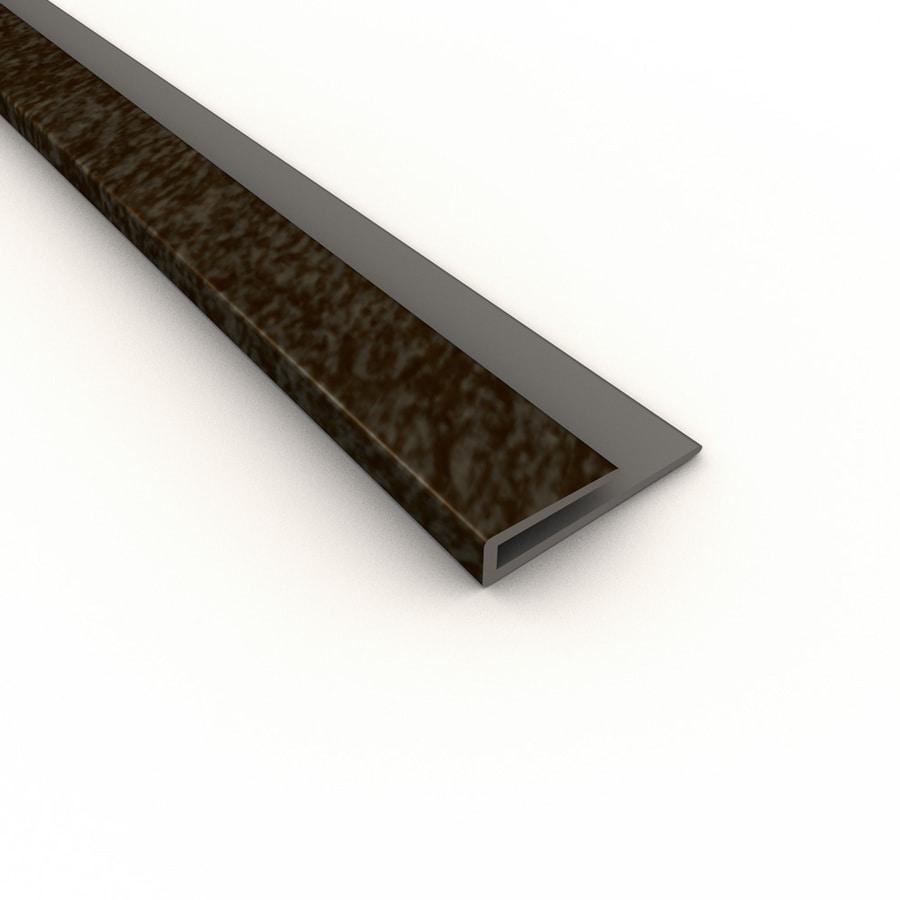 Fasade 0.75-in x 18-in Smoked Pewter Thermoplastic Multipurpose Backsplash