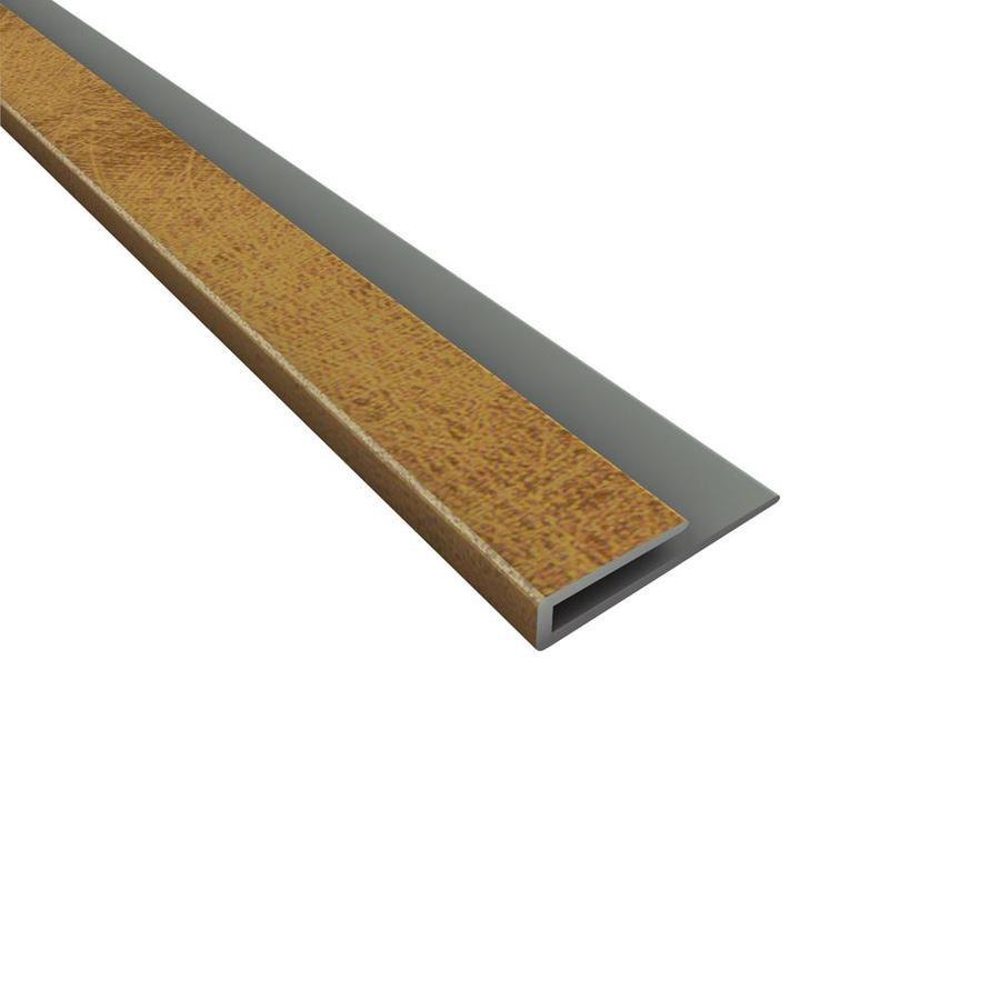 Fasade 0.75-in x 18-in Argent Bronze Thermoplastic Multipurpose Backsplash