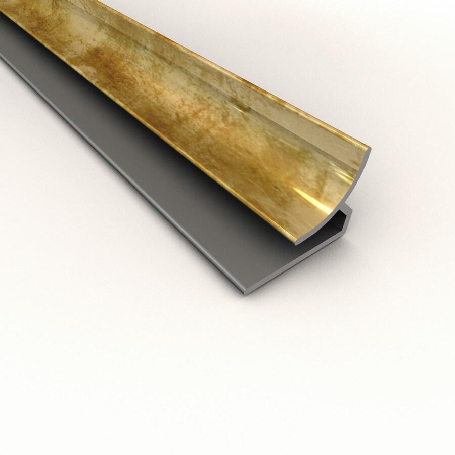 Fasade 0.75-in x 18-in Bermuda Bronze Thermoplastic Backsplash