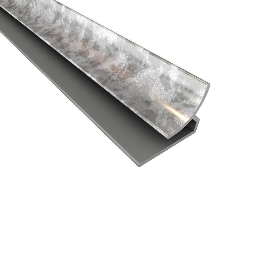 Fasade 0.75-in x 18-in Galvanized Steel Plastic Multipurpose Backsplash