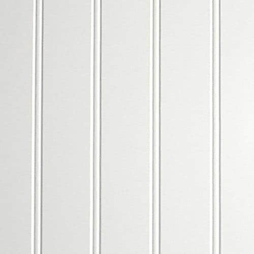 X 7 98 Ft Beaded White Wall Panel