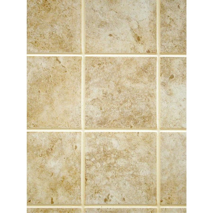 Fashionwall x tan tile board at - Lowe s home improvement bathroom tile ...