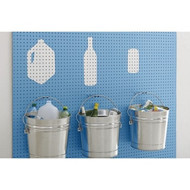 Hardboard Pegboard (Actual: 47.75-in x 95.75-in) at Lowes.com