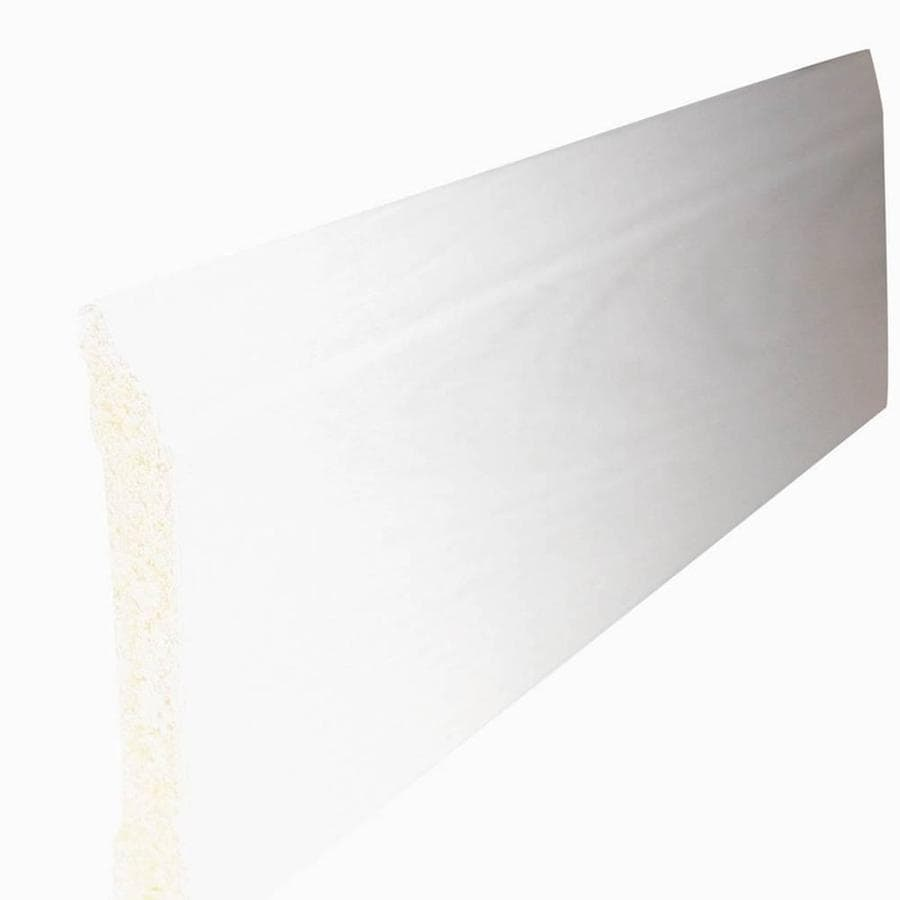 3.4375-in x 8-ft Interior Polystyrene Baseboard