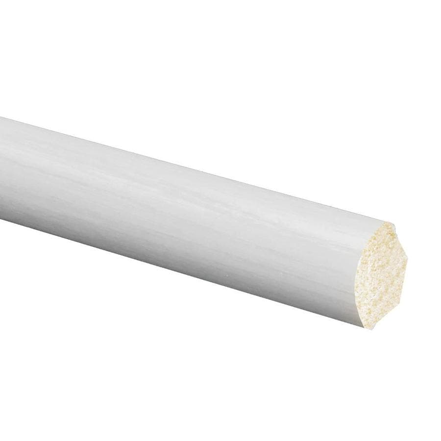 0.5625-in x 96-in Polystyrene Quarter Round Moulding