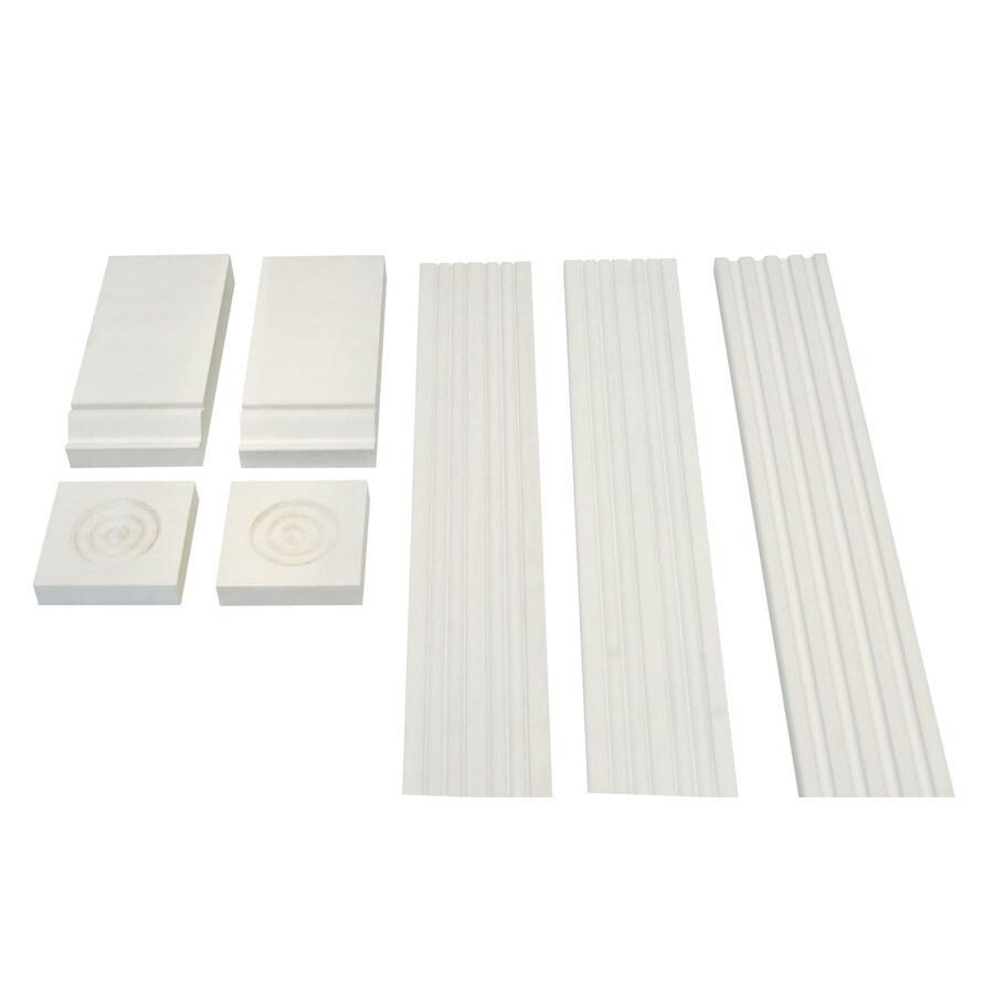 2-in x 3-1/2-in x 7-ft White Polystyrene Extended Frame Mullion Moulding