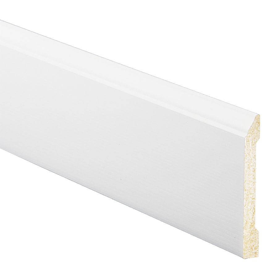 4.1875-in x 8-ft Interior Polystyrene Baseboard