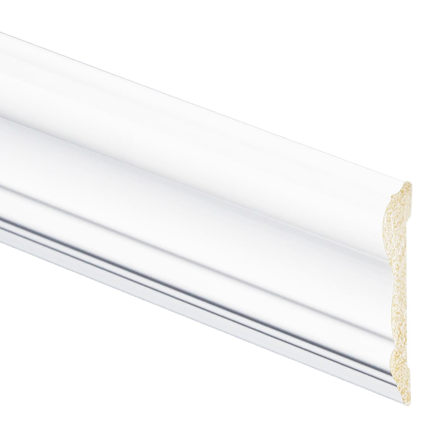 Inteplast Group Building Products 2 625 In X 8 Ft Prefinished Polystyrene Chair Rail Moulding