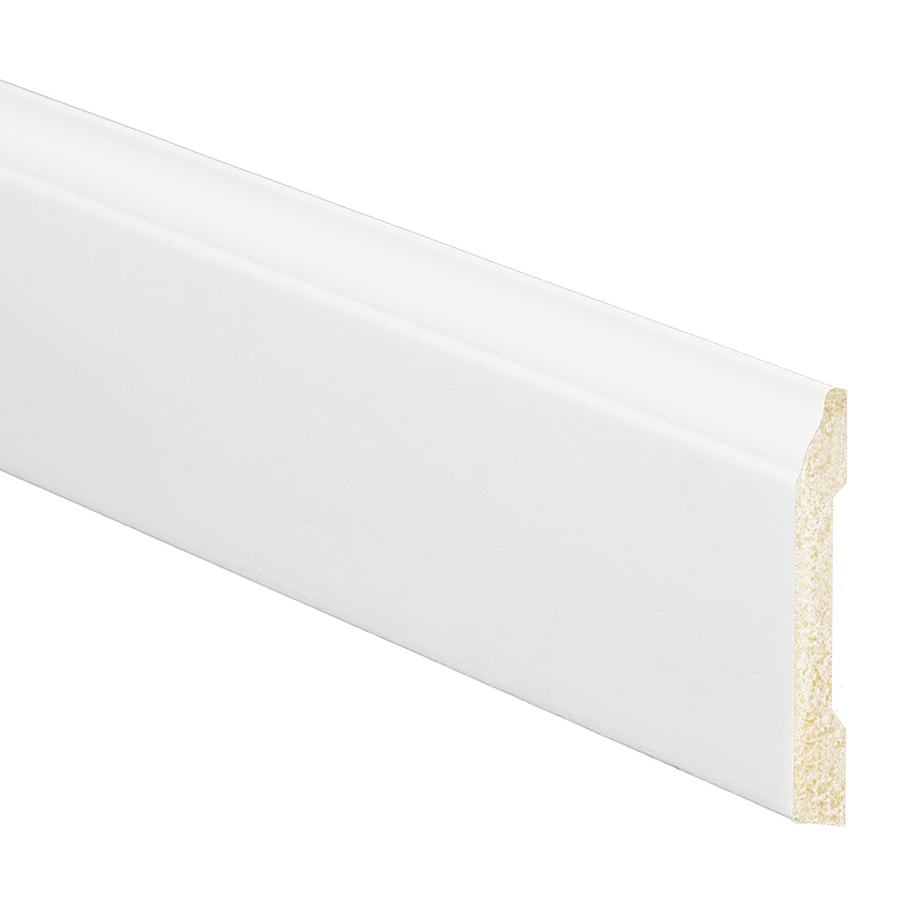 3.1875-in x 8-ft Interior Prefinished Polystyrene Baseboard Moulding