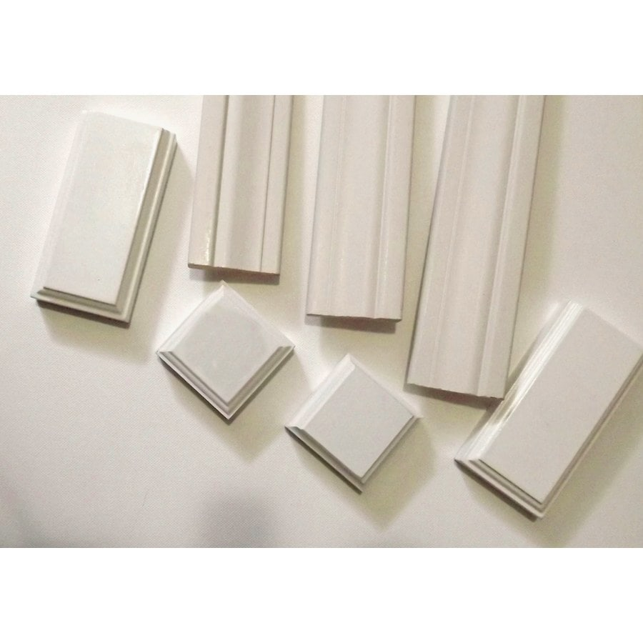Superbe Inteplast Group Building Products 2.375 In X 7 Ft Interior Prefinished  Polystyrene Door Casing