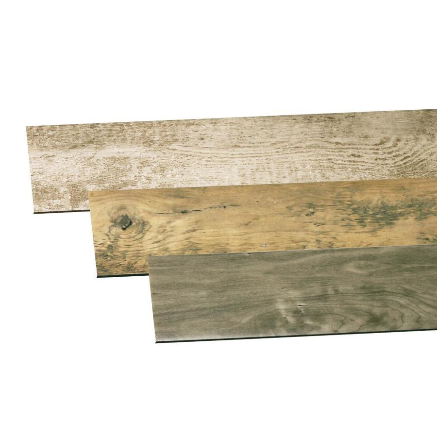 Inteplast Group Building Products Accent Planks 15-sq ft Multicolor PVC Wall Plank Kit