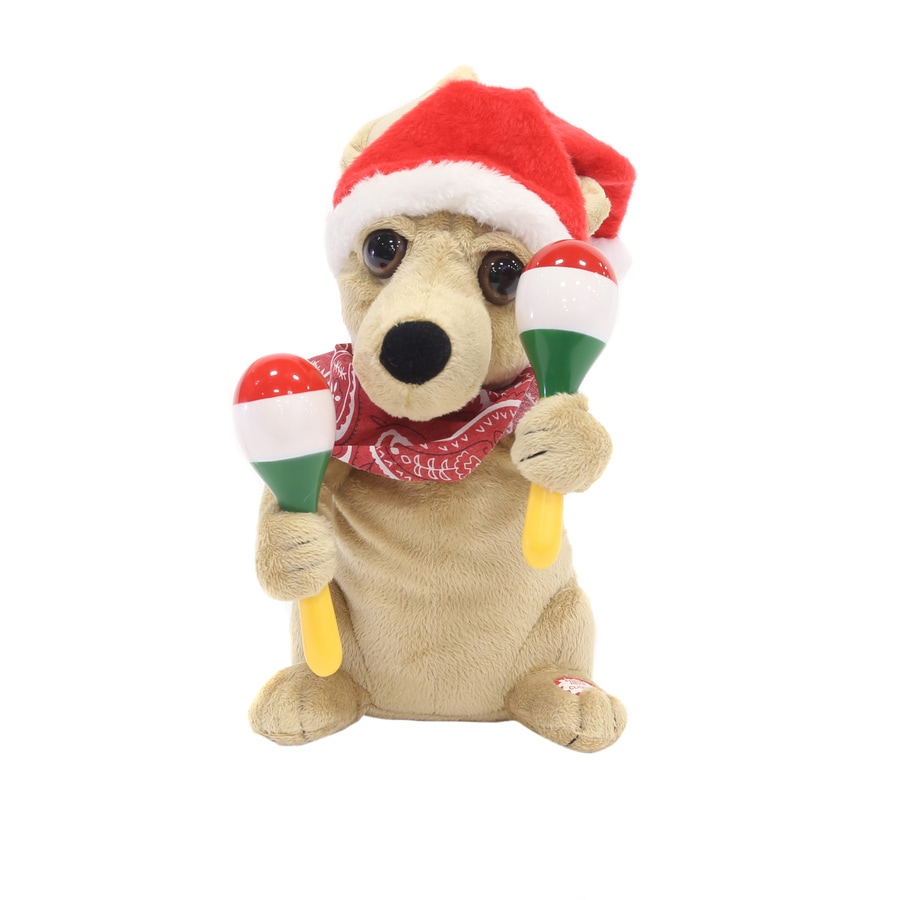 Holiday Living Animatronic Musical Chihuahua Tabletop