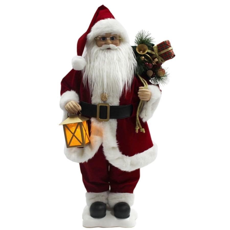 Holiday Living Animatronic Pre-Lit Musical Santa Lights