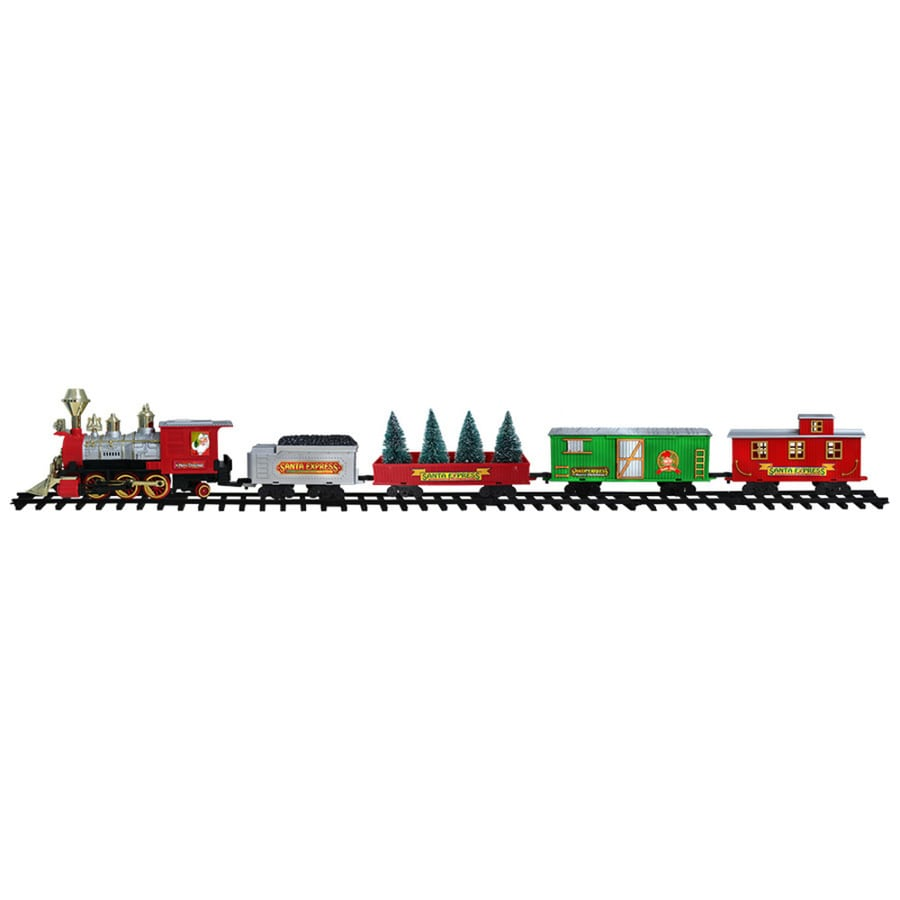 Holiday Living (No Cinematic Universe) Animatronic Lighted Train Table Runner Twinkling White Led Lights