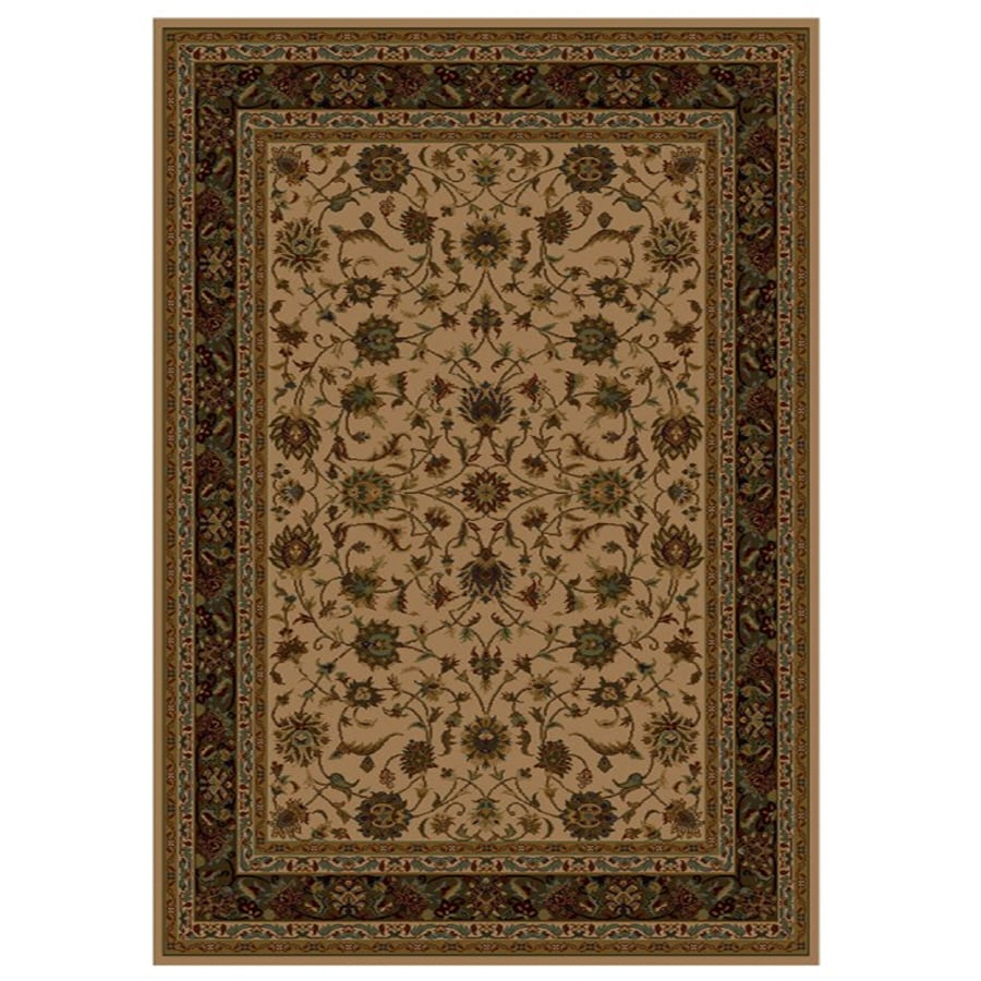 Shaw Living Palace Kashan Rectangular Indoor Woven Area Rug (Common: 10 x 13; Actual: 111-in W x 155-in L)