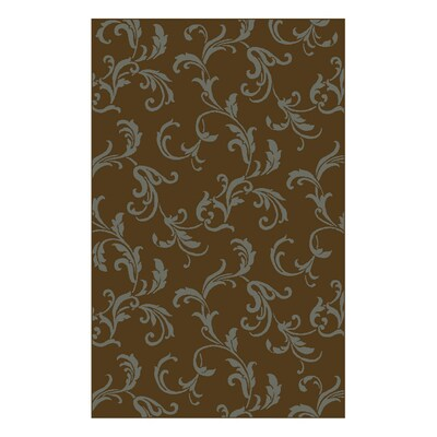 Shaw Living 5 X 7 8 Brown Newport Area Rug At Lowes
