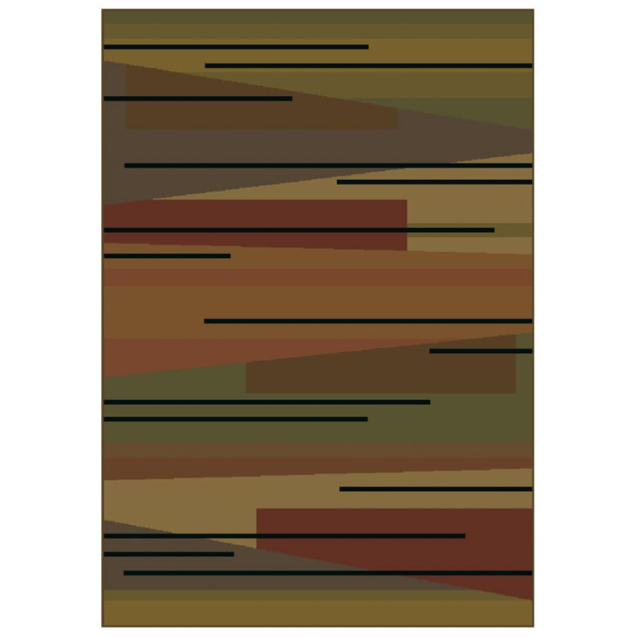 "Shaw Living 23"" x 38"" Multi Zesto Accent Rug"