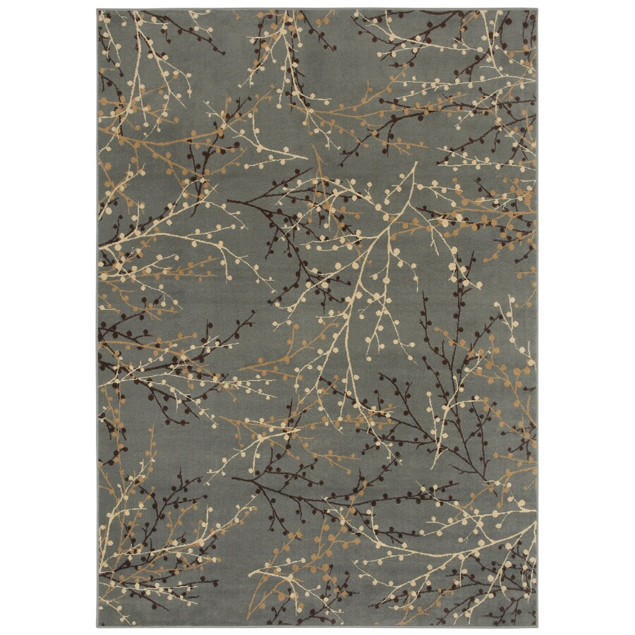 Shaw Living Berries Rectangular Indoor Woven Area Rug