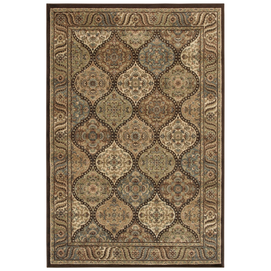 Shaw Living Aragon Rectangular Indoor Woven Area Rug (Common: 8 x 10; Actual: 94-in W x 130-in L)
