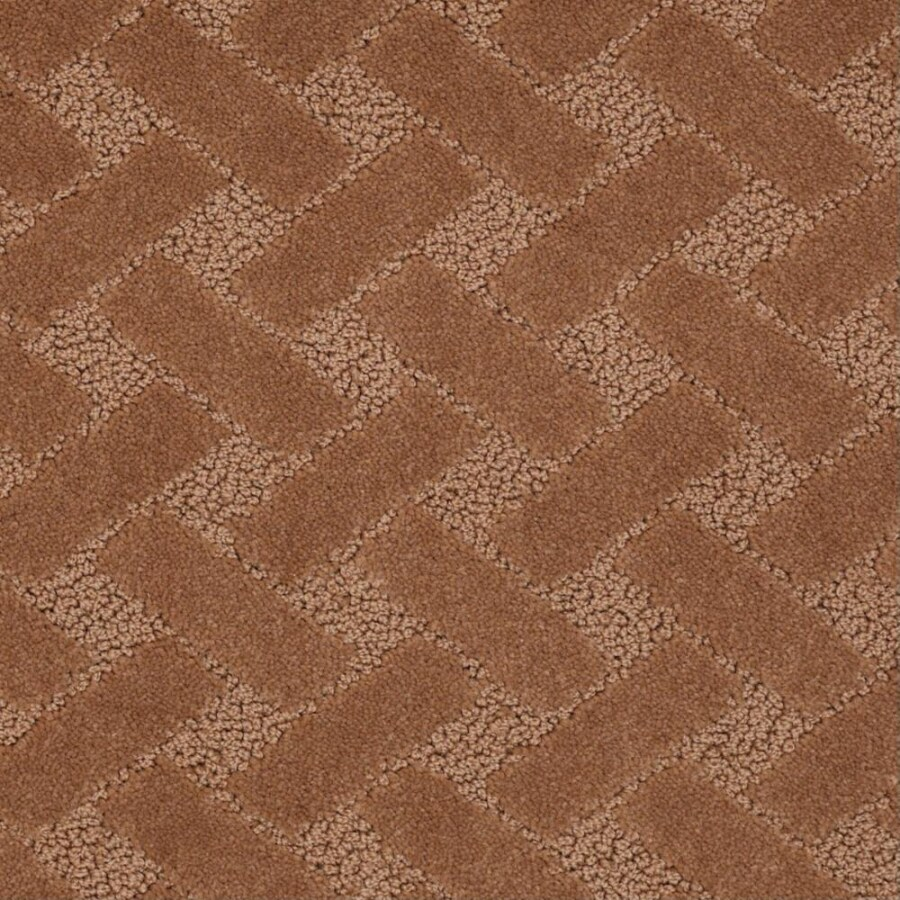 STAINMASTER Active Family Crowning Glory Apple Butter Berber Indoor Carpet
