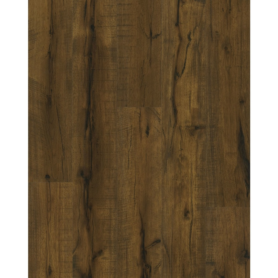 Shop shaw toasted hickory w x l for Quick step flooring lowes