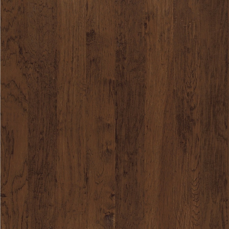 Shop shaw dakota hickory 5 in w prefinished hickory for Hickory flooring