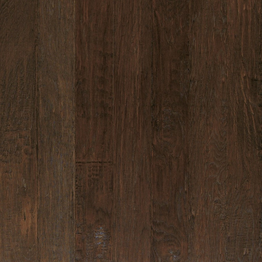Shaw Dakota Hickory 5 In W Prefinished Engineered Hardwood Flooring Siena